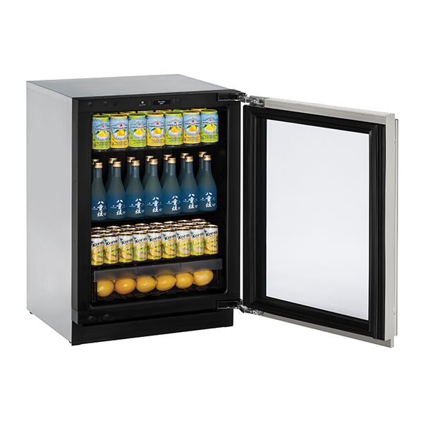 U-Line Glass Door Refrigerators