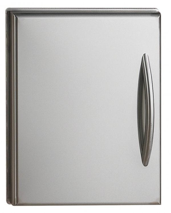 Napoleon Flat Stainless Steel Built-in Door Set