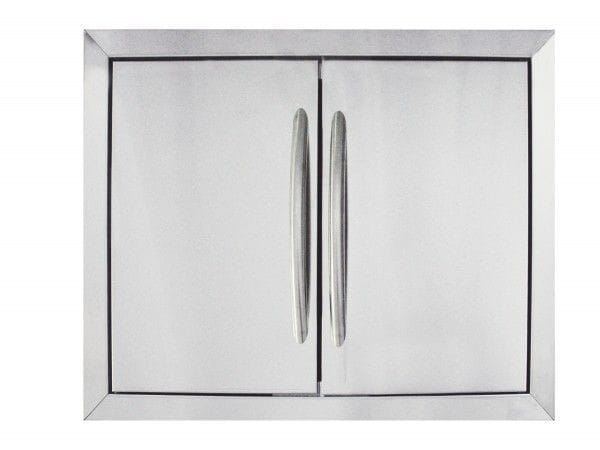 Napoleon Large Stainless Steel Double Door Set