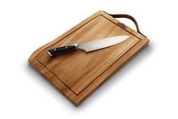 Napoleon Premium Cutting Board and Knife Set