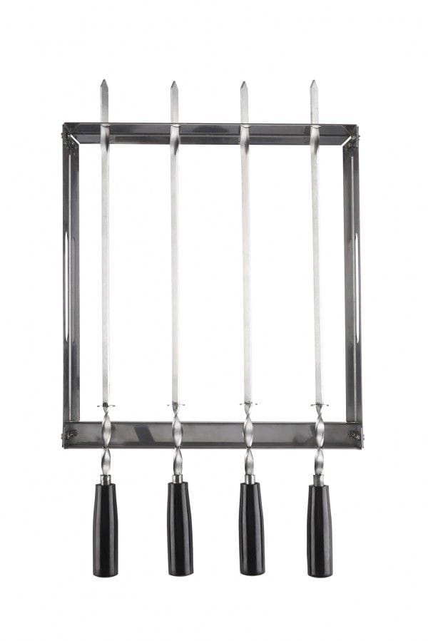 Napoleon PRO Series Stainless Steel Rotating Skewer Rack