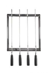 Napoleon PRO Series Stainless Steel Rotating Skewer Rack