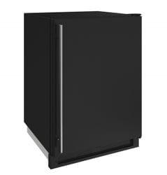 "Freezer 24"" Reversible Hinge Black 115v"