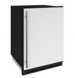 """Freezer 24"""" Reversible Hinge White 115v"""