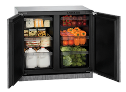 "Solid Refrigerator 36"" Integrated 115v"