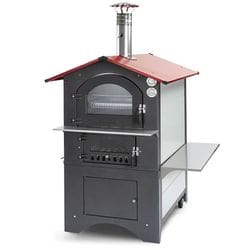 Fontana Wood Oven Rosso-80RV