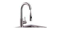 Gooseneck Pull Down Faucet