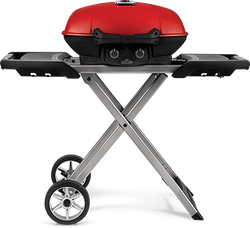 Napoleon TravelQ 285X with Scissor Cart and Griddle