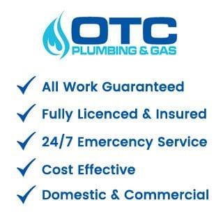OTC Plumbing & Gas 24/7 emergency service