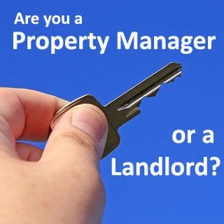 Are you a property manager or a landlord?