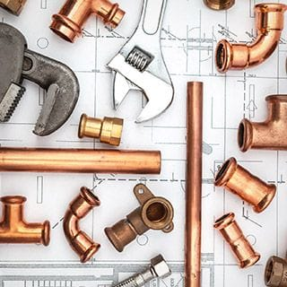 Commercial plumbing & gas fitting service