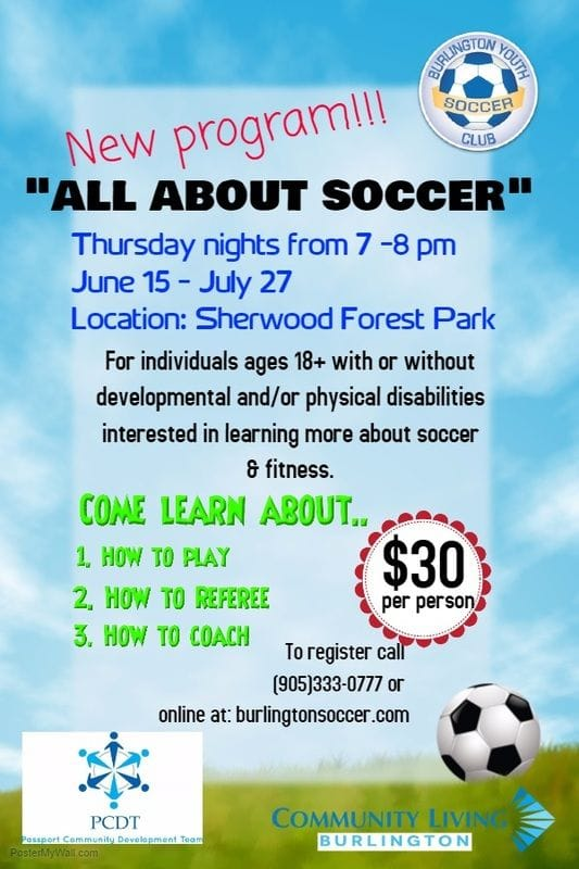New Program...ALL ABOUT SOCCER........