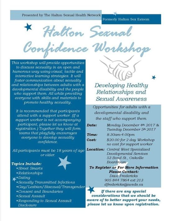Workshop on Developing Healthy Relationships