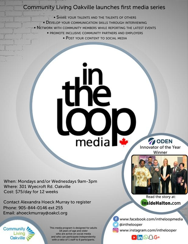 NEW PROGRAM......IN THE LOOP MEDIA