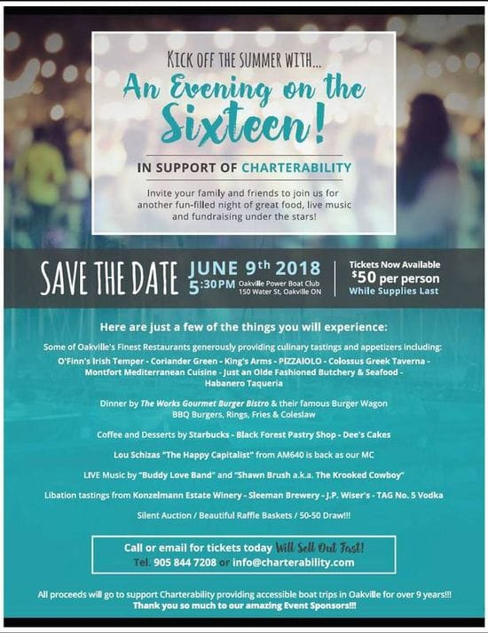 Fundraiser for Charterability.......