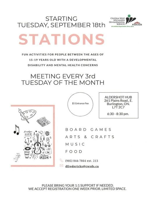NEW!!! STATIONS.... meetings held 3rd Tuesday of each month