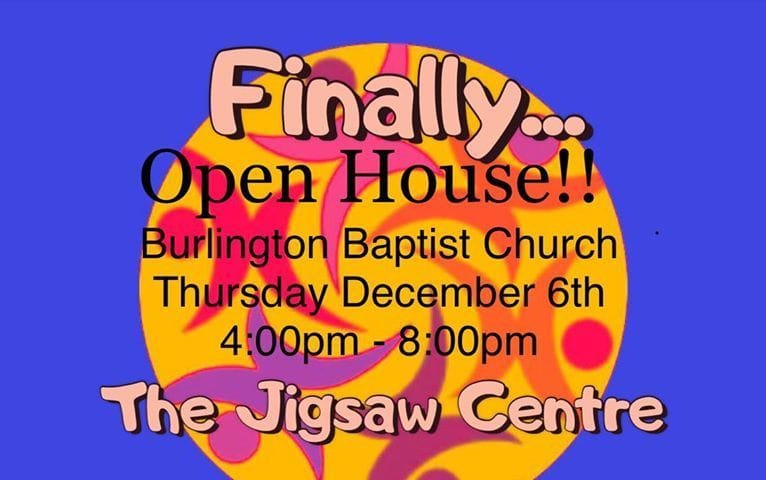 NEW PROGRAM.....Coming to Burlington January 2019...THE JIGSAW CENTRE