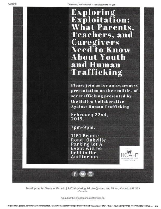 DSO...Human Trafficking....