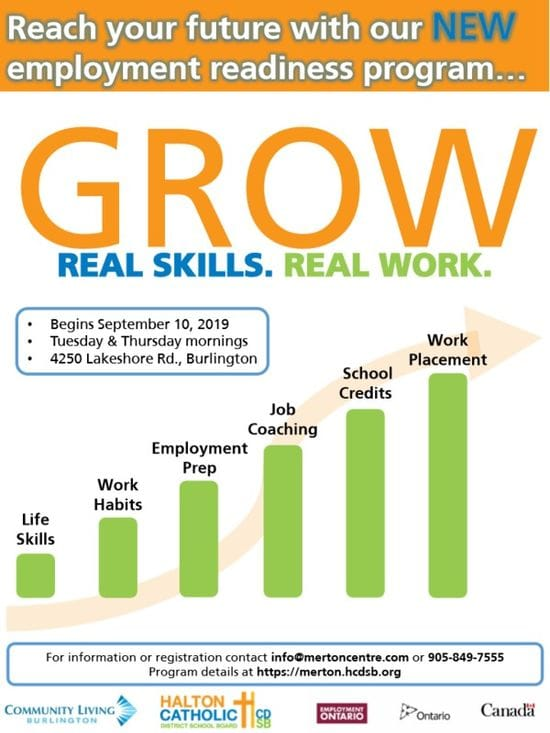 New!!!GROW....Upgrading your literacy and numeracy skills....employment skills