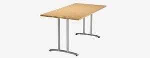 SPE Vespa VB Rectangular Double Column T-Base Table