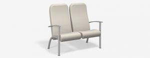 SPE Companion 4202H-Two Seater High Back w Metal Arm