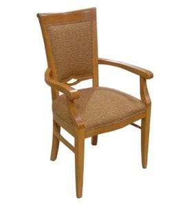 HCF Pelee Arm Chair Front -23