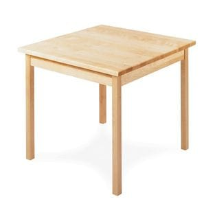HCF Dining Table with Block Legs