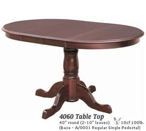 Jam 4060 Pedestal Dining Table