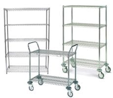 Medeleq | Wire Baskets and Shelving