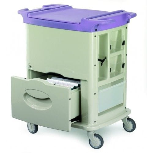 Francehopital File/Chart Trolley