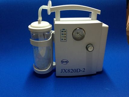 JX820-D2 Suction Unit, Portable. Mains or Battery