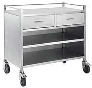 2 Drawer Cabinet Trolley