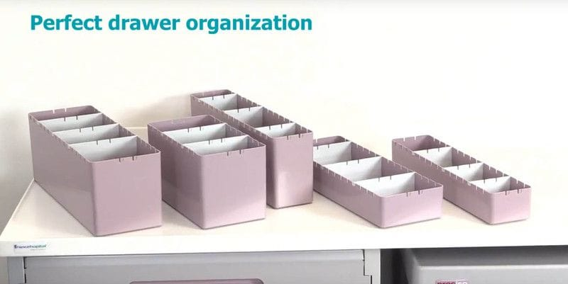 Drawer Organiser Bins