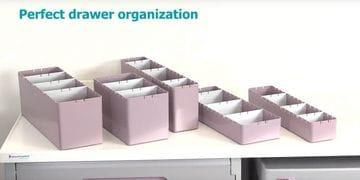 Drawer Organiser Bins