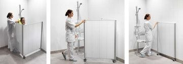 Silentia Shower Privacy Screens
