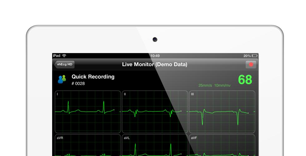 VH ECG for  iPad