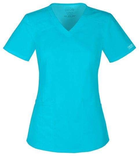 4710-TRQW Turquoise Women's Top