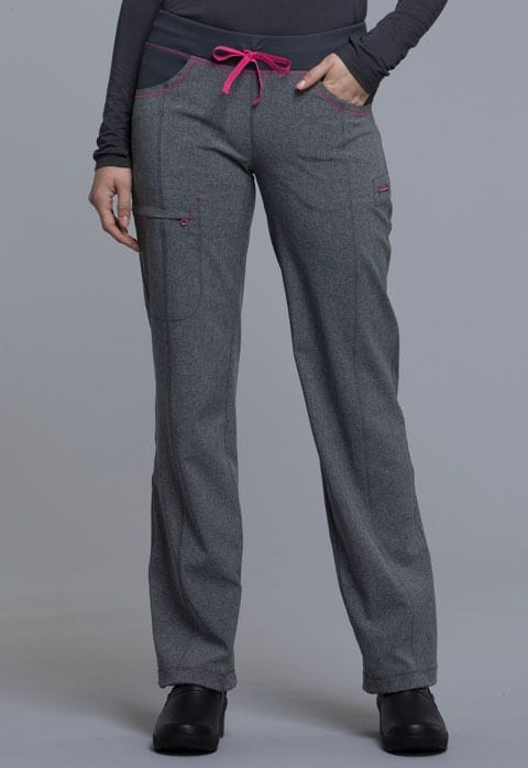 .CK013A Pant Infinity Heather Grey Low rise