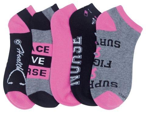 Sock  assorted Nurses Rule 5 pairs