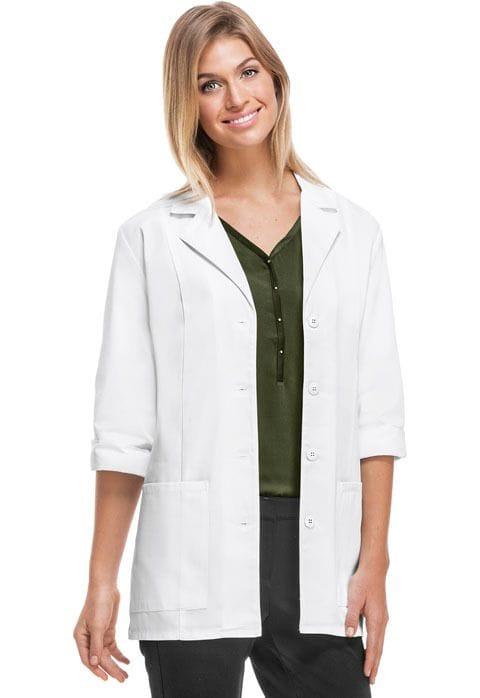 """Lab Coat 3/4 Sleeve White 30"""""""