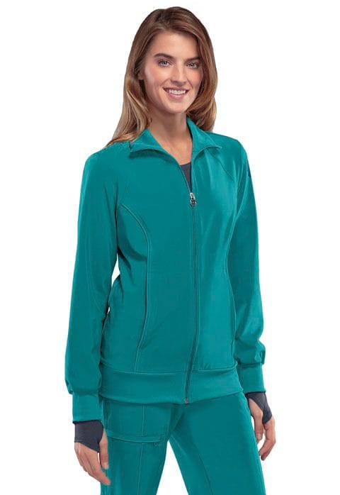 2391A WarmUp Jacket Zip Front