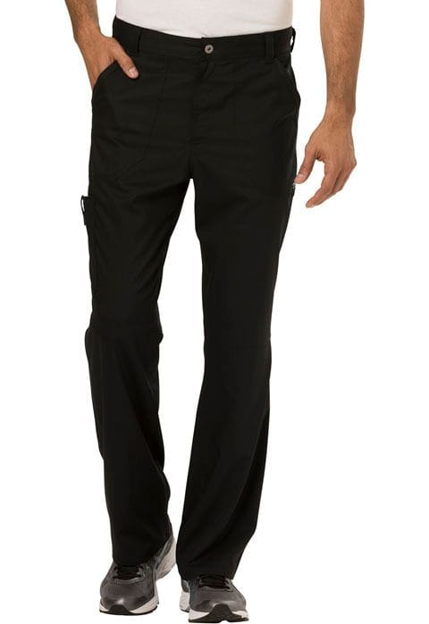 ..WW140 Black Mens Fly Front Pant