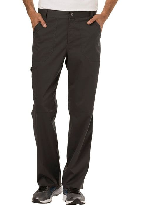 ..WW140 Pewter Mens Fly Front Pant