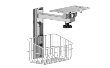 Patient Monitor Wall Mount with Basket