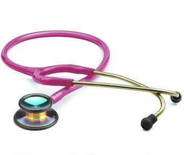 .ADC Stethoscope Clinician 603, Metallic Raspberry