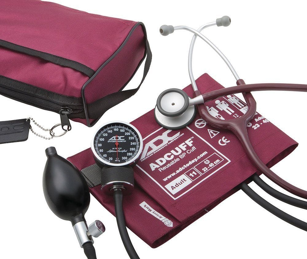 ADC Pocket Aneroid Sphyg/Stethoscope Set
