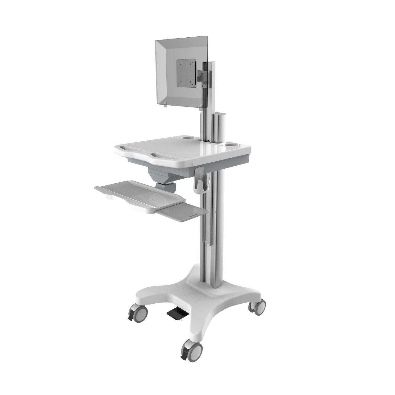 Computer Trolley Height Adjustable