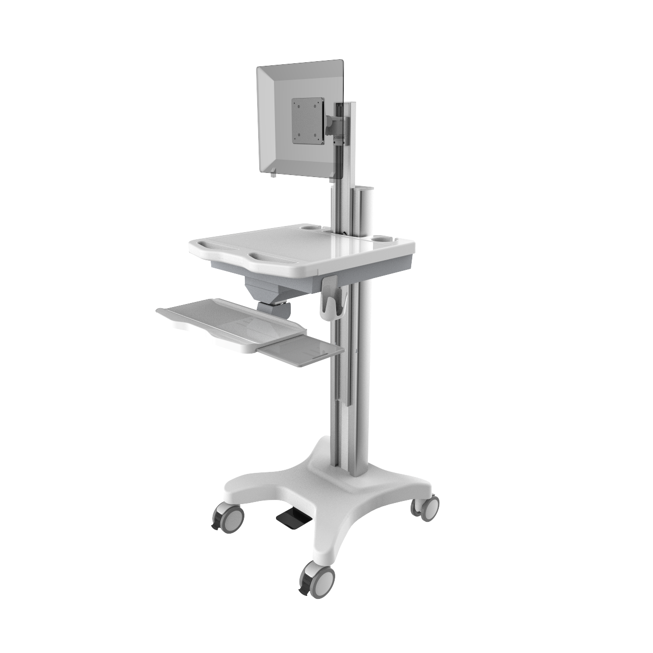 Computer Trolley Height Adjustable