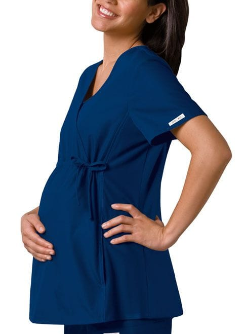 ..2892 - Flexible Navy Maternity Top