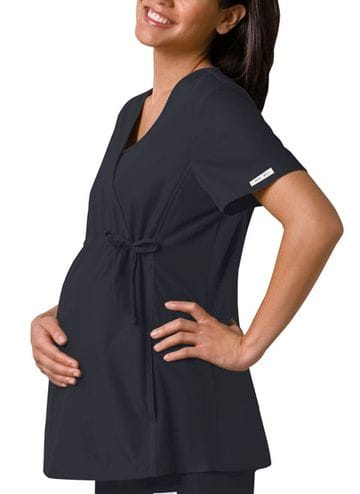 ..2892 - Flexible Pewter Maternity Top